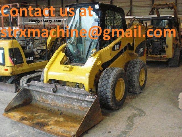 2008 CAT  246C Construction machine Wheeled loader photo