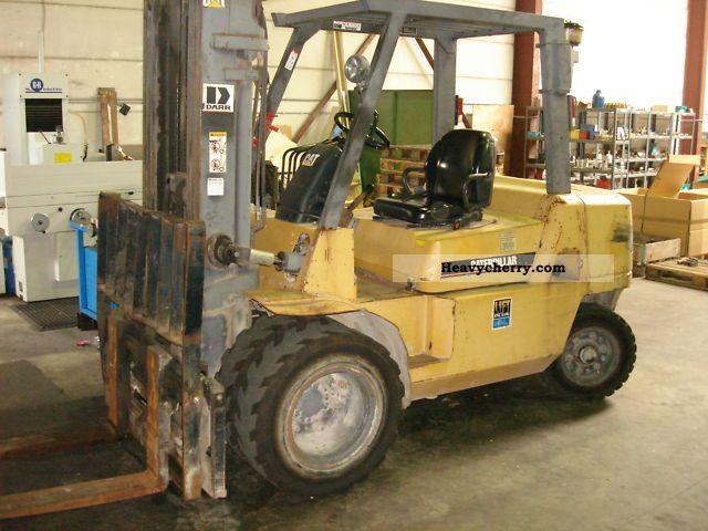 2002 CAT  DP 40 K Forklift truck Front-mounted forklift truck photo