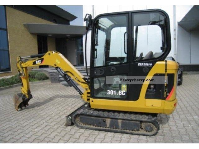 2007 CAT  301.6C Construction machine Caterpillar digger photo