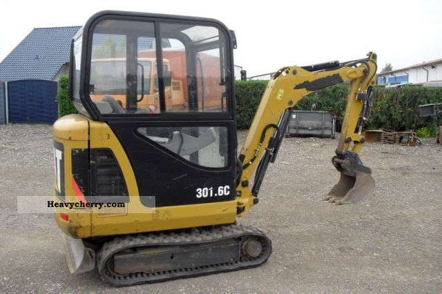 2007 CAT  301.6 Construction machine Mini/Kompact-digger photo