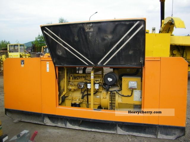 1997 CAT  Agregat prądotwórczy Olympian GE 110X Construction machine Other substructures photo