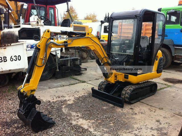2007 CAT  301.5 ** ** BJ 2007/3000Bstd/Sw/Hammerleitung Construction machine Mini/Kompact-digger photo