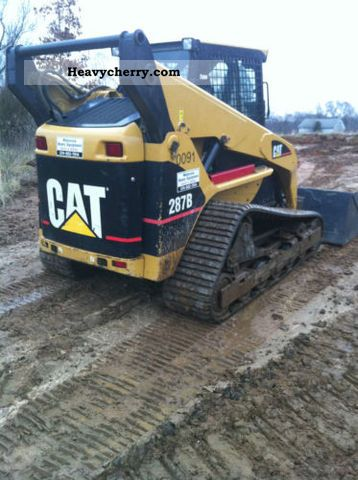 2008 CAT  287B Construction machine Caterpillar digger photo