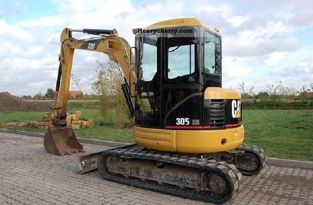 2011 CAT  3 0 5 CR Construction machine Mini/Kompact-digger photo