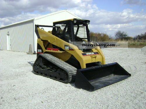 2007 CAT  Caterpillar 287B Construction machine Wheeled loader photo