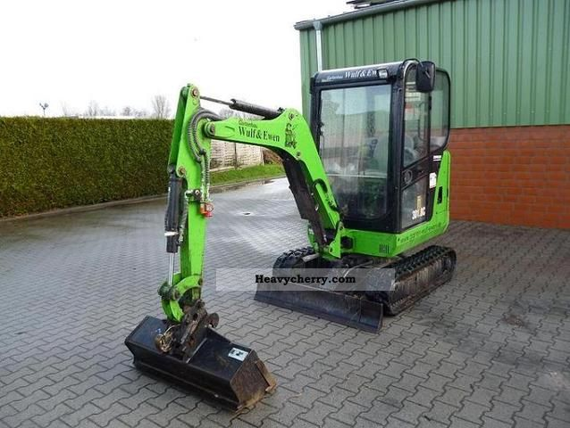 2008 CAT  301.7 Construction machine Mini/Kompact-digger photo