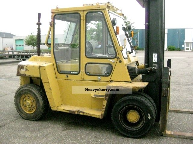 1995 CAT  DP70 Forklift truck Front-mounted forklift truck photo
