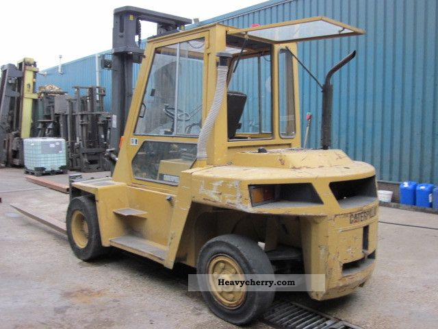 Cat Dp70 2011 Front Mounted Forklift Truck Photo And Specs