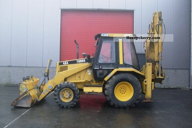 1994 CAT  438B Construction machine Combined Dredger Loader photo