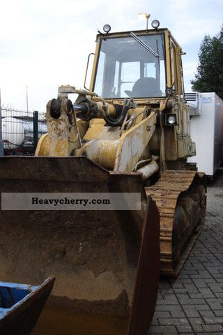 1986 CAT  963 Construction machine Dozer photo