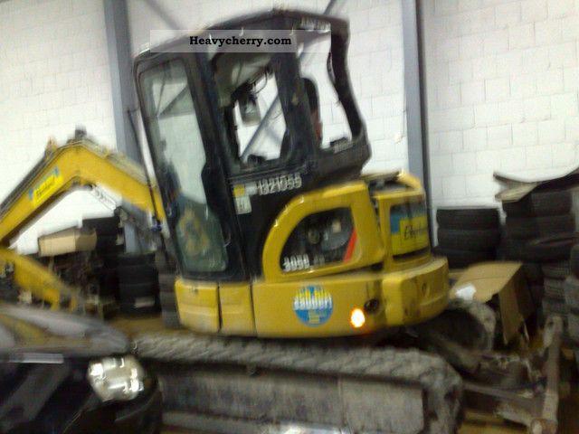 2007 CAT  CCR 305 car accident damage Construction machine Mini/Kompact-digger photo