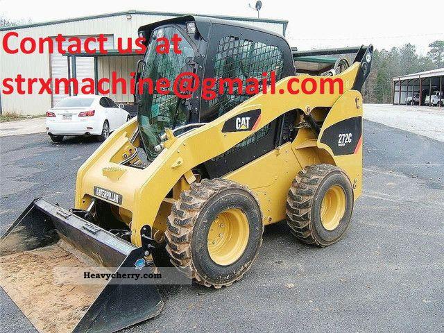 2011 CAT  272C Construction machine Wheeled loader photo