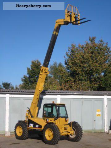 1996 CAT  Caterpillar TH82 TURBO 4x4x4 / Zusatzhydr. Forklift truck Telescopic photo