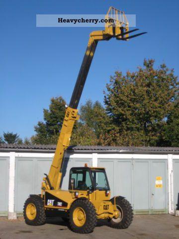 1996 CAT  Caterpillar TH82 TURBO 4x4x4 / Zusatzhydr. Forklift truck Rough-terrain forklift truck photo
