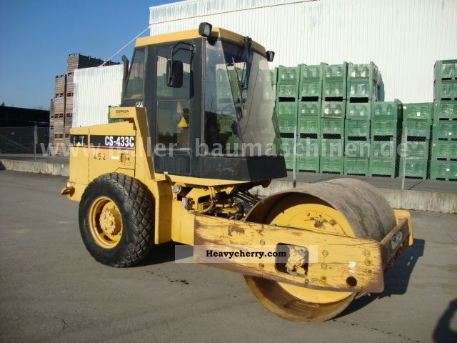 1996 CAT  CS 433C compactor vibration TOP Construction machine Rollers photo