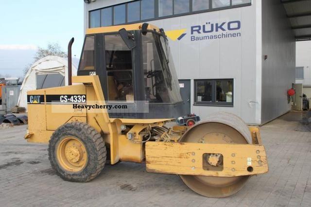 2000 CAT  CS 433 C Construction machine Rollers photo