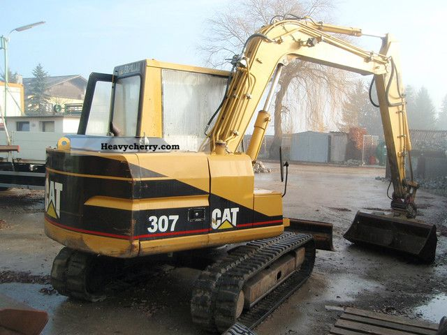 cat 307 1998 caterpillar digger construction equipment. Black Bedroom Furniture Sets. Home Design Ideas