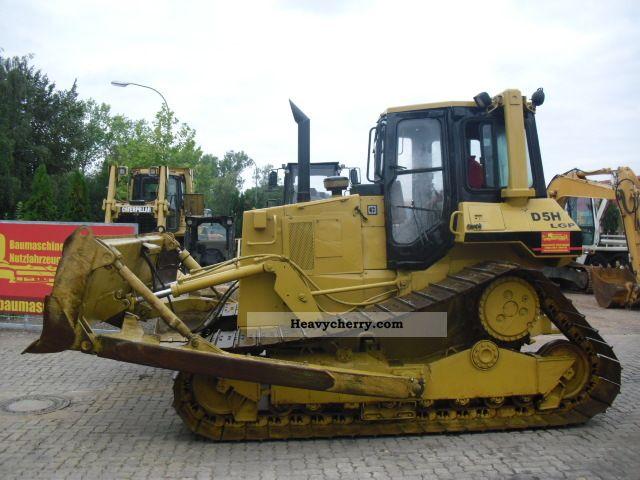 1991 CAT  D 5 LGP ** Air / Very good condition ** Construction machine Dozer photo