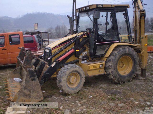 2000 CAT  C 438 Construction machine Combined Dredger Loader photo