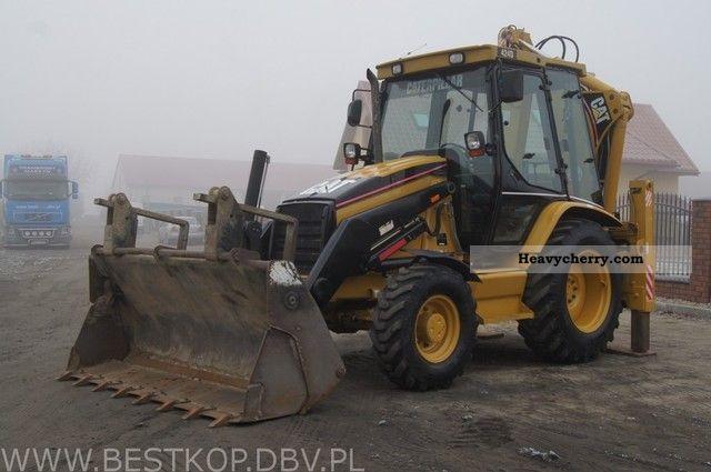 2002 CAT  424D Construction machine Combined Dredger Loader photo