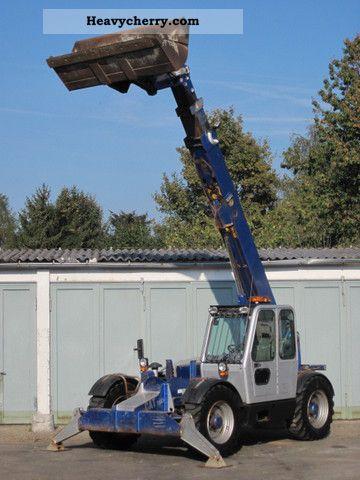 2000 CAT  Caterpillar TH63 TURBO 4x4x4 - 12m / Zusatzhydr. Forklift truck Rough-terrain forklift truck photo