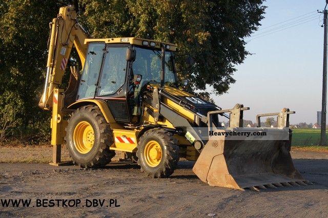 2002 CAT  PREMIER 432D ** ** Construction machine Combined Dredger Loader photo
