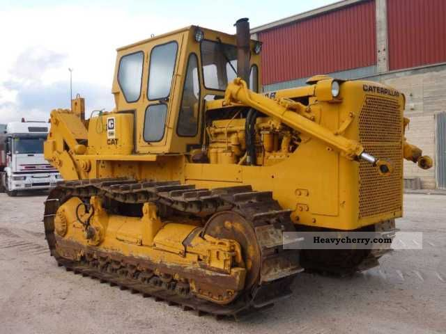 CAT D8 H 1969 Dozer Construction Equipment Photo and Specs