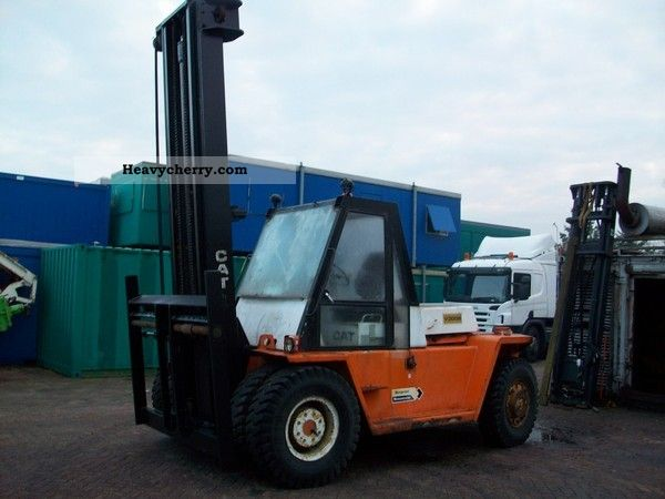1990 CAT  V 300B Forklift truck Container forklift truck photo