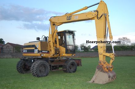 1998 CAT  M315 Construction machine Mobile digger photo