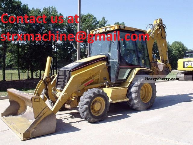 2005 CAT  420D Construction machine Combined Dredger Loader photo