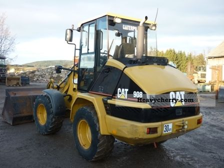 Cat 908 2004 Wheeled Loader Construction Equipment Photo