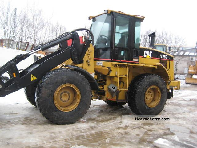 Tires Brands List >> CAT IT28G 1998 Wheeled loader Construction Equipment Photo and Specs
