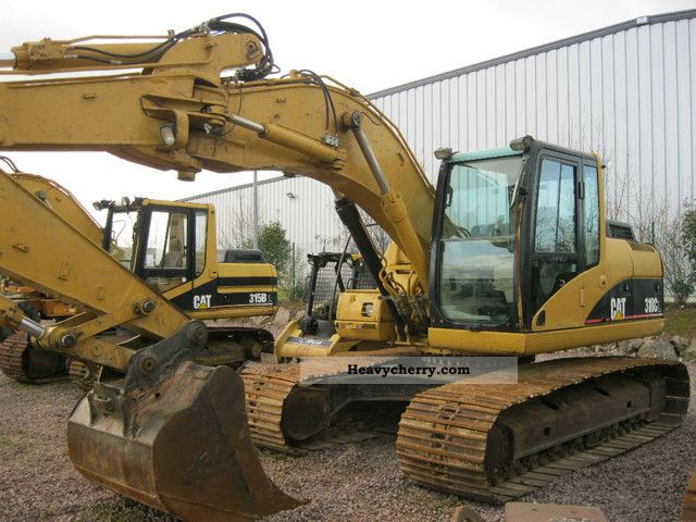 2003 CAT  * Year * 318CL 2003/11000Bstd/Klima/Hammerltg/Sw/Top Construction machine Caterpillar digger photo