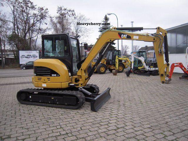 2010 CAT  CR 304C / 305 Construction machine Mini/Kompact-digger photo