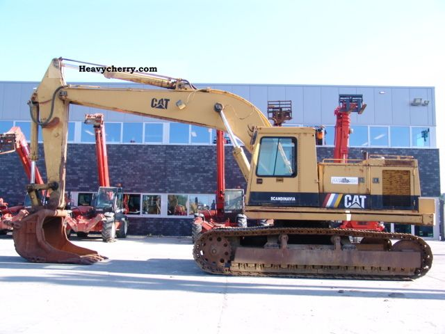 1992 CAT  231 DLCZ Construction machine Caterpillar digger photo