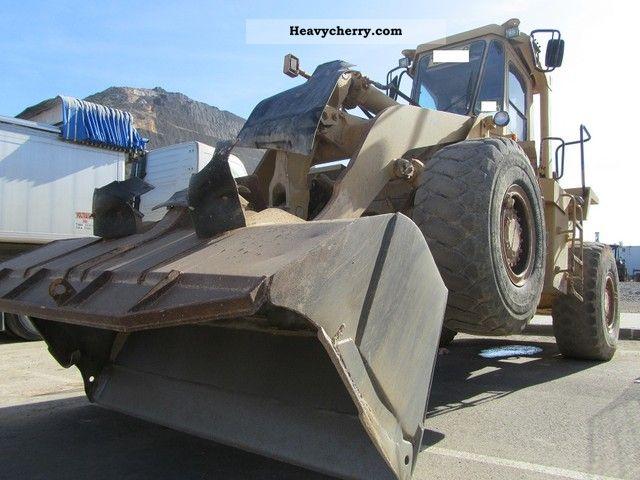 1990 CAT  AIR-950E-950B-TIRES-70%-1990-TOPZUSTAND Construction machine Wheeled loader photo