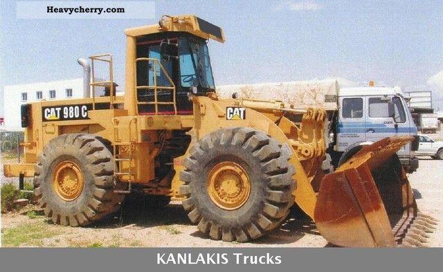 2011 CAT  980C Location \u003c\u003c\u003cGREECE\u003e\u003e\u003e Construction machine Wheeled loader photo