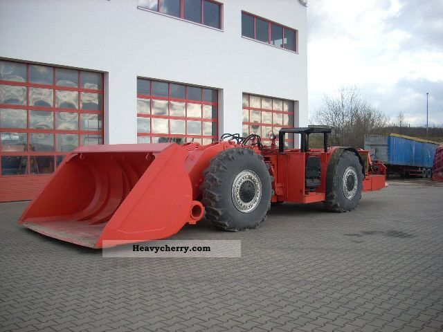 1991 CAT  Dietlas + + + + + + tunnel loaders Construction machine Wheeled loader photo