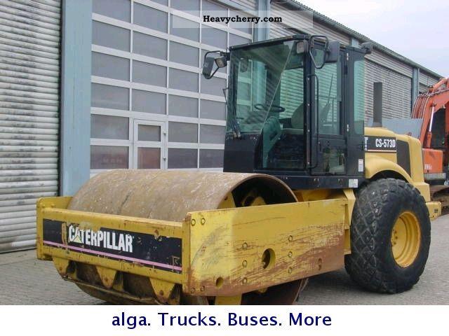 2002 CAT  CS 573 D Construction machine Rollers photo