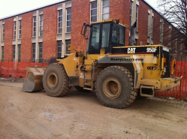 1997 CAT  950 FII Construction machine Wheeled loader photo