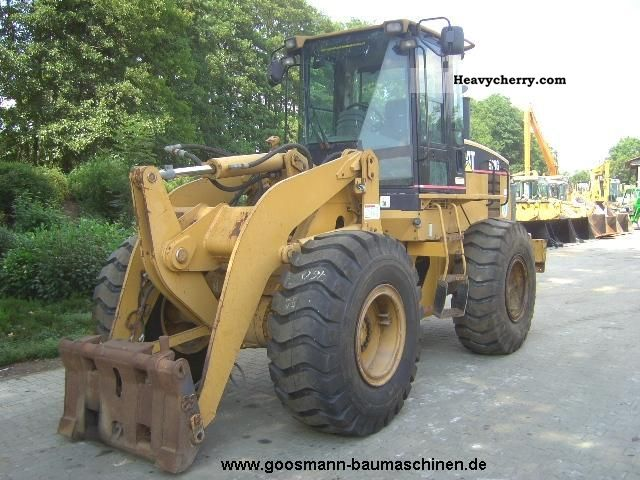 2002 CAT  928G climate, SWE Construction machine Wheeled loader photo