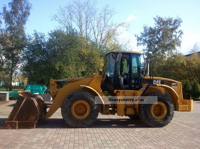 2002 CAT  962G / 966 Construction machine Wheeled loader photo