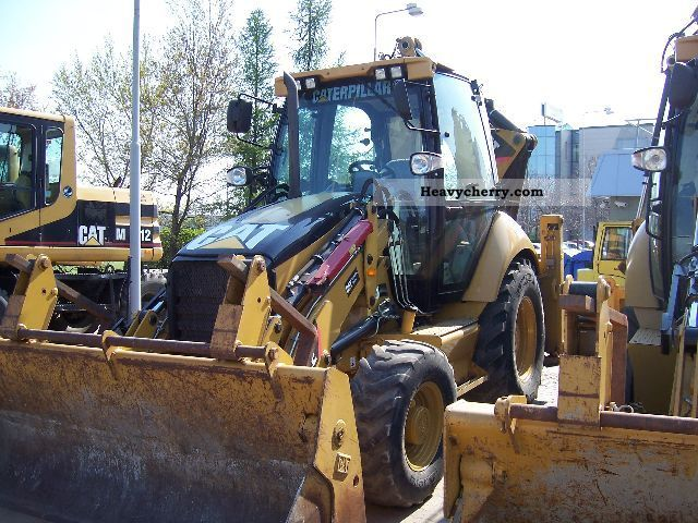 2008 CAT  432E Construction machine Other construction vehicles photo