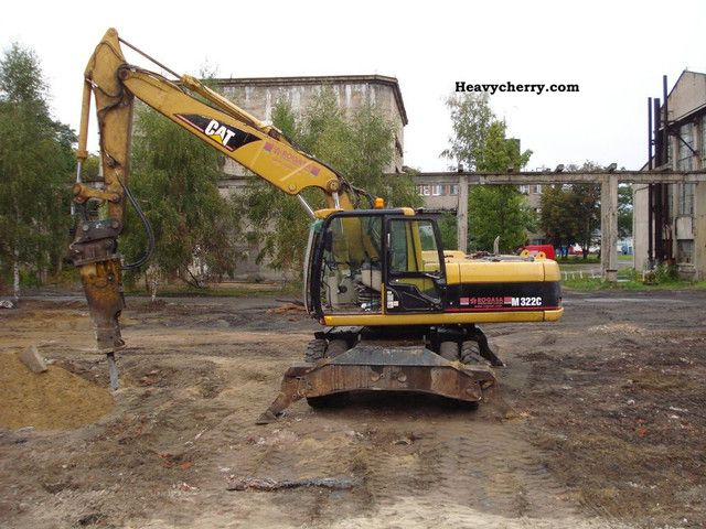 2003 CAT  M322 Construction machine Mobile digger photo