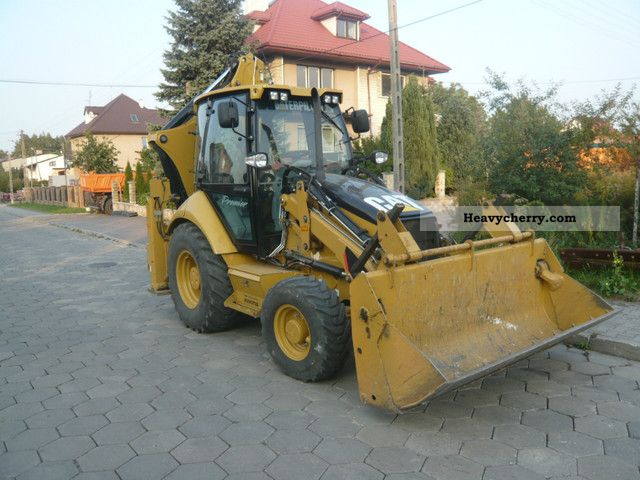2010 CAT  432E Construction machine Wheeled loader photo