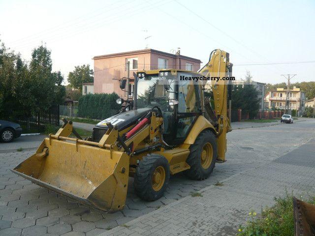 2010 CAT  Premier 432E climate Construction machine Mobile digger photo
