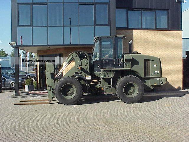 Cat It 28 G Loader Forklift Only 1000 Std 2005 Wheeled