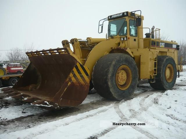 1994 CAT  988 F loaders Construction machine Wheeled loader photo
