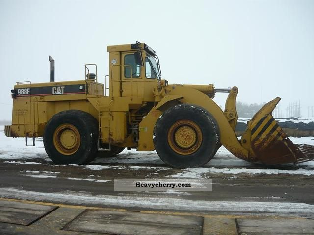 Cat 988 F Loaders 1994 Wheeled Loader Construction Equipment Photo And Specs