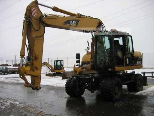 2005 CAT  M 316 C excavator Construction machine Mobile digger photo